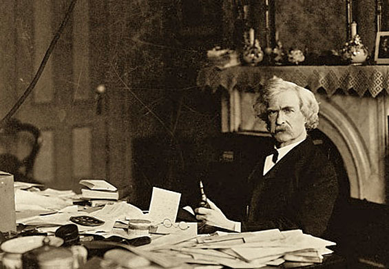 mark twain on writing Posts about mark twain's writing style written by lisa waller rogers.